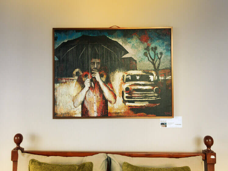 Original art and decor showcase in Goa