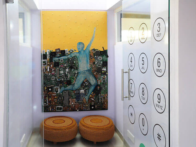 Creative office phone booths for employees